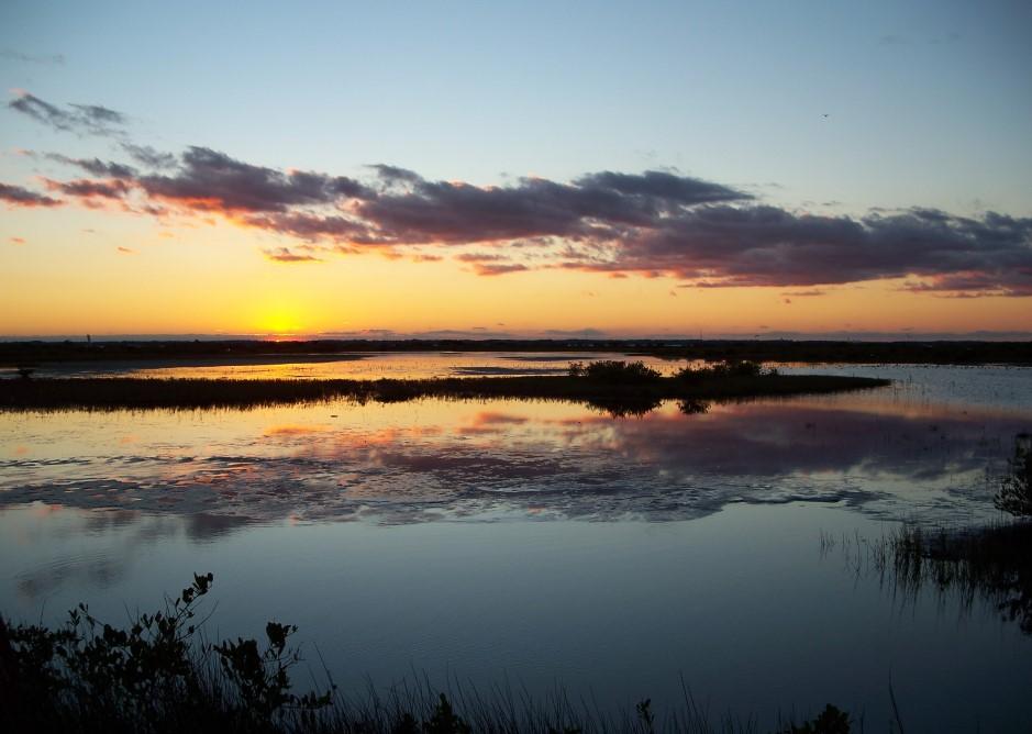 Merritt Island Florida Sunset