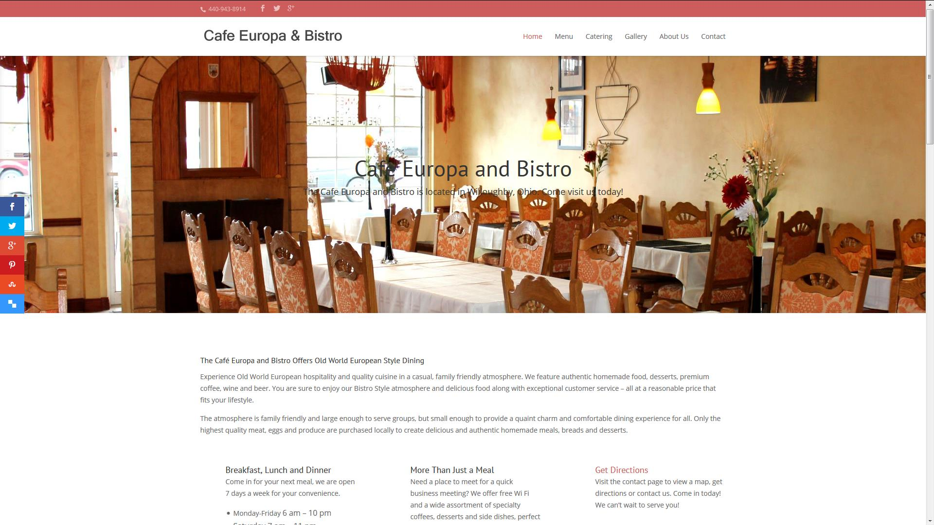 Cafe Europa and Bistro